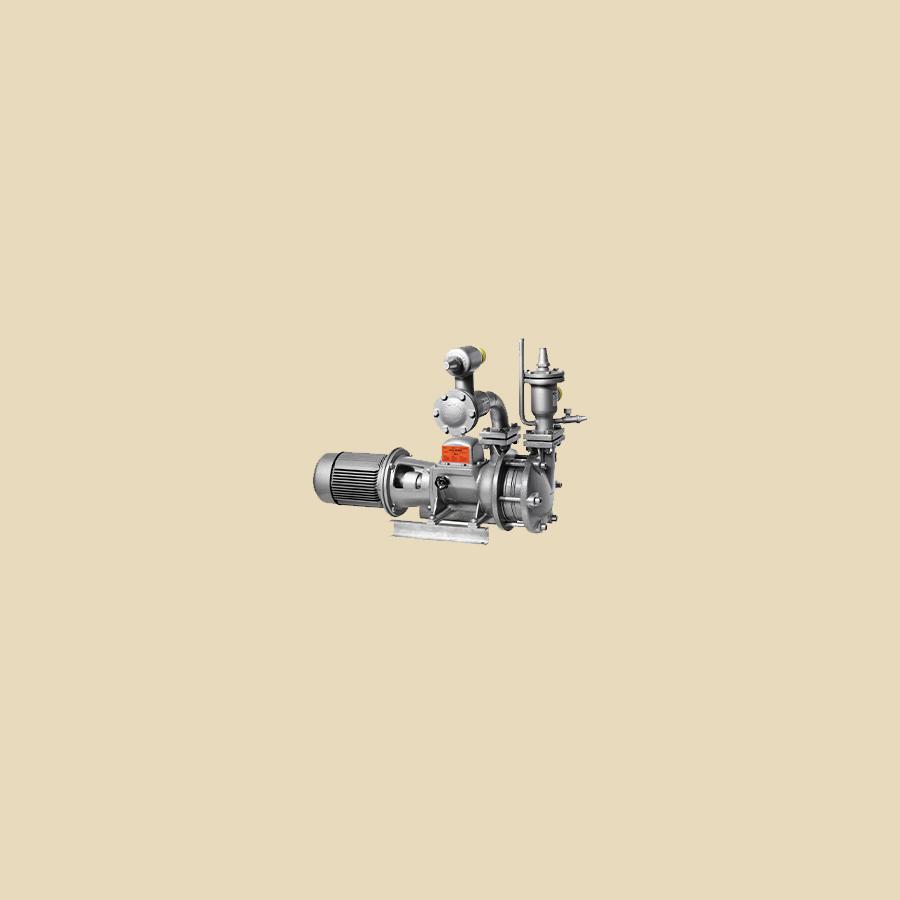 Pompe à réfrigérant GP41 PN16 avec joints de brides et pièce d'accouplement côté pompe