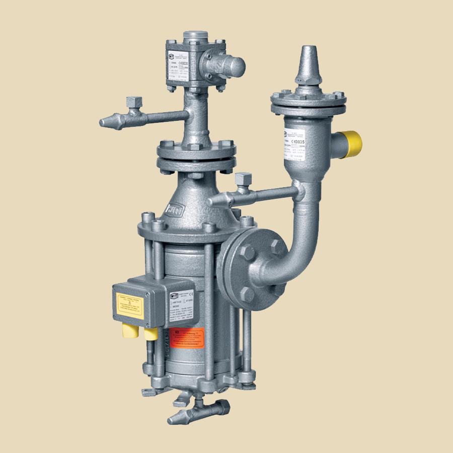 Pompe à réfrigérant HRP3232 avec joints et tamis d'aspiration, vanne clapet sortie, vanne désaération PS 25 Bar