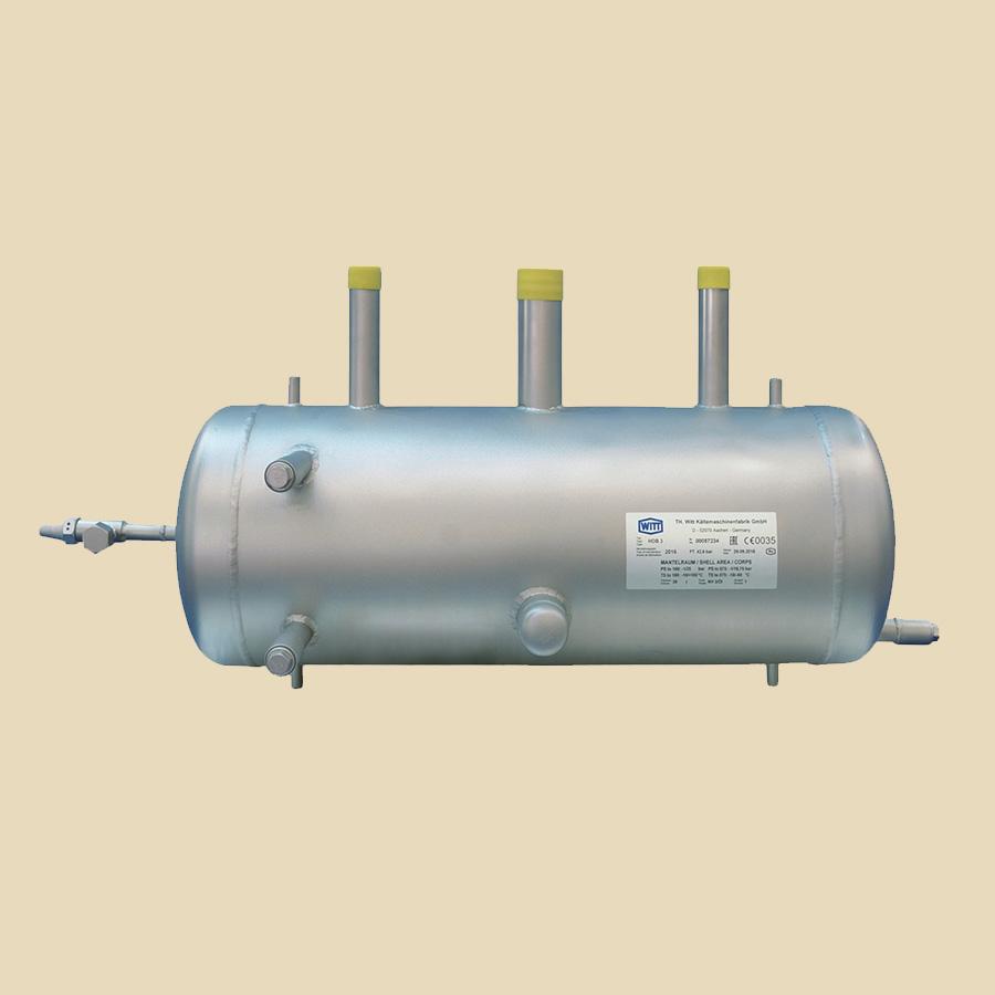 Résevoir d'huile en acier Inox HDB3 volume 39l - volume utile 30l