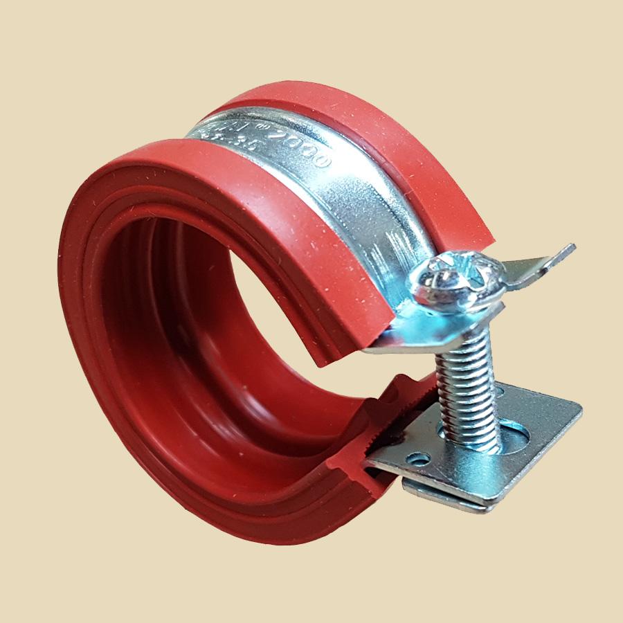Collier isophonique HT M8 - 15/18mm jusqu'à +200°C