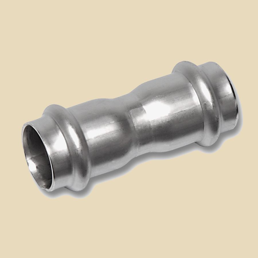 Manchon Galvanisé à Sertir 108mm FxF compatible avec profils SA ou M