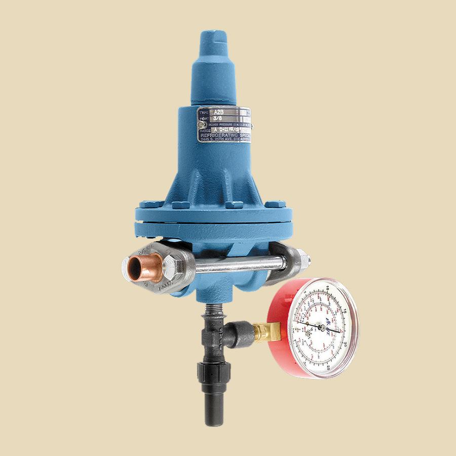 A2B, Vanne à pression constante amont