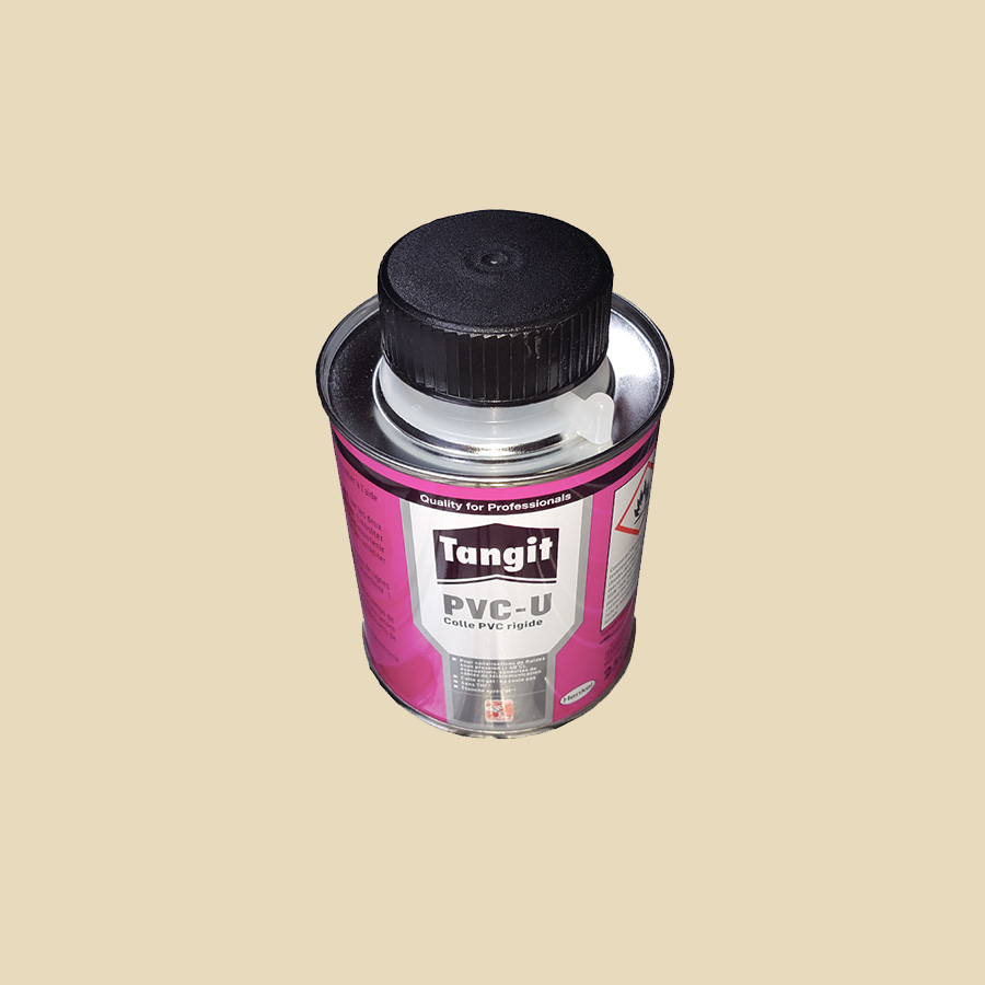Pot de colle 1000 ml avec pinceau pr PVC