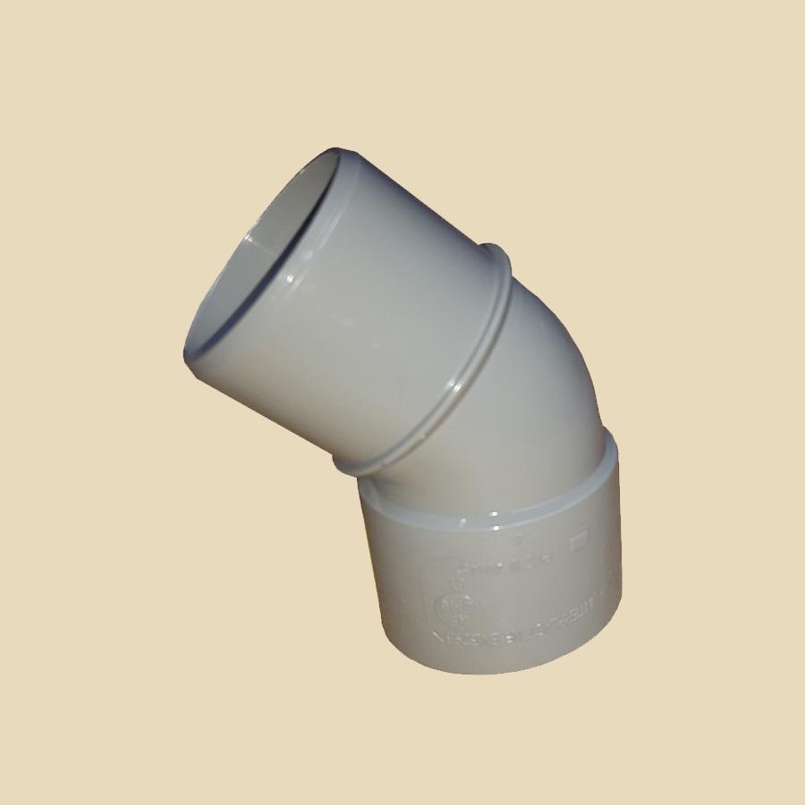 Coude 45° MF PVC gris Ø 32mm Prix/Pièce