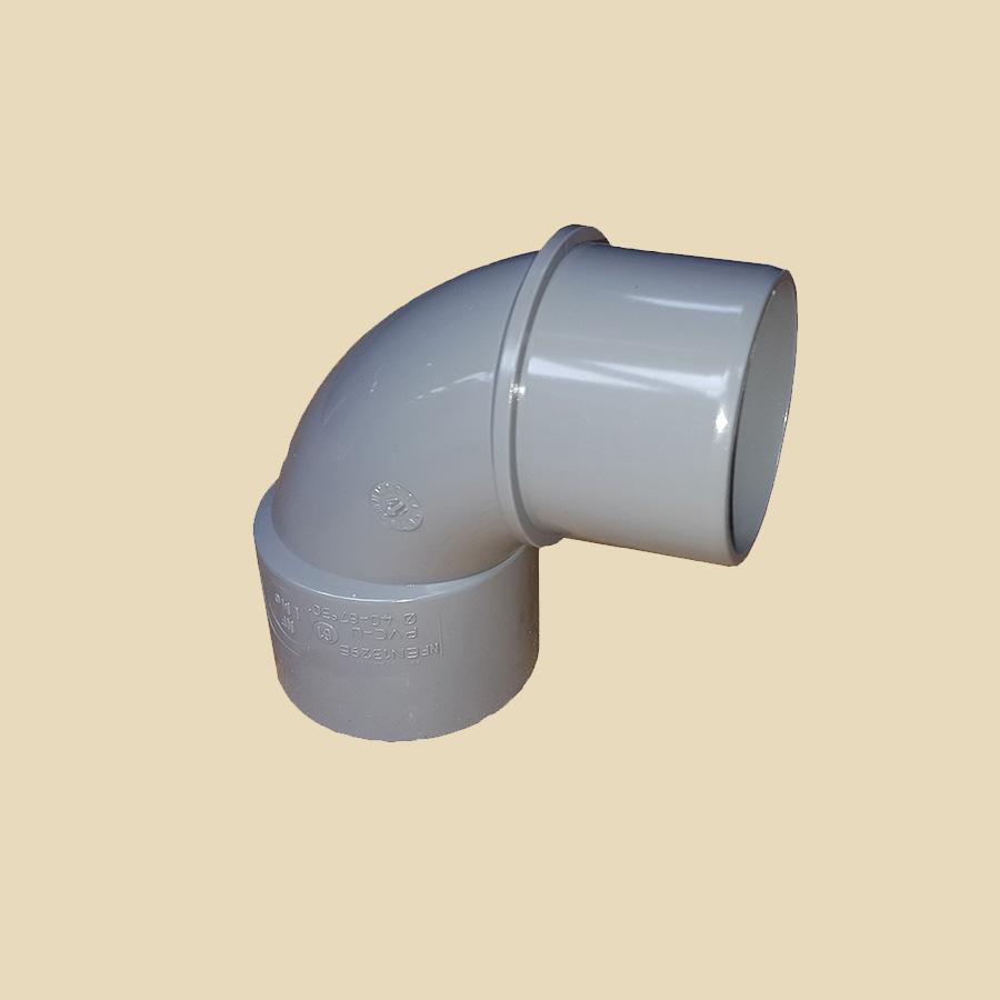 Coude 87° MF PVC gris Ø 32mm Prix/Pièce