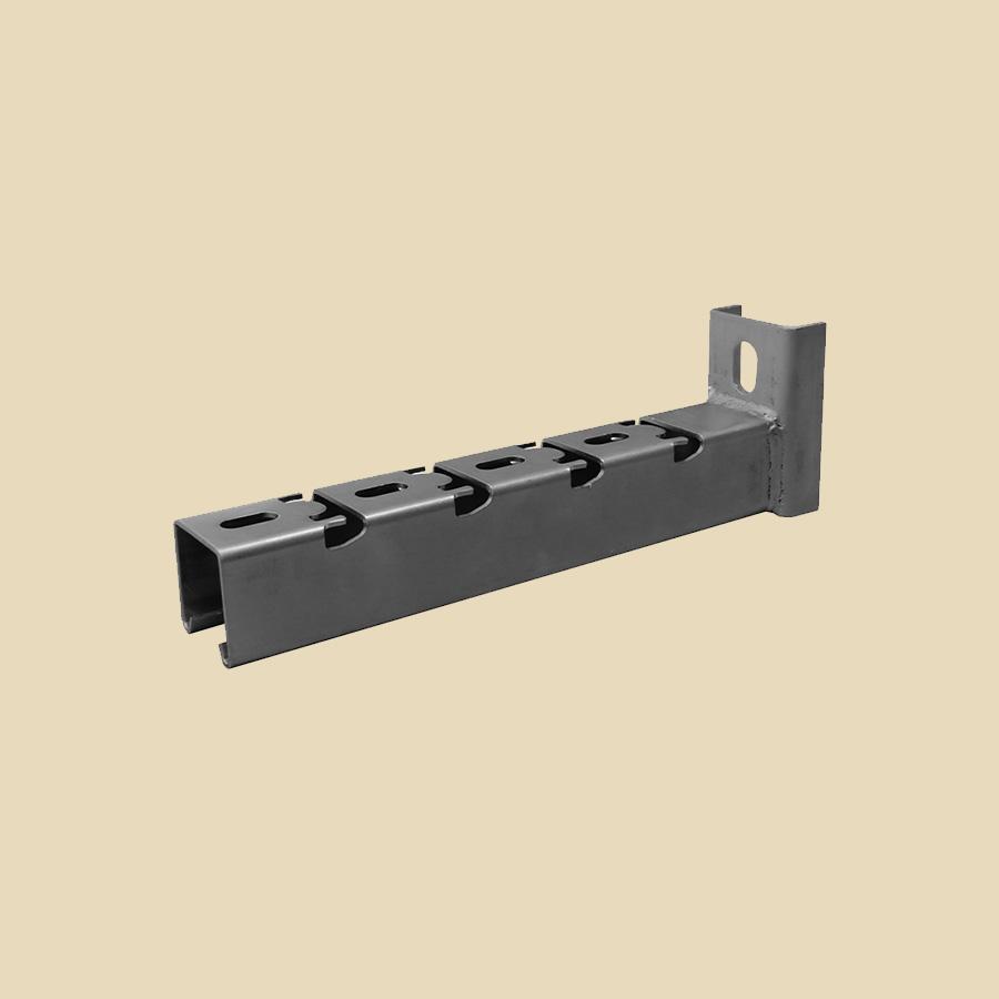 Consoles encliquetables rails 41 x 41 pour chemin de câbles fils - larg. 150mm
