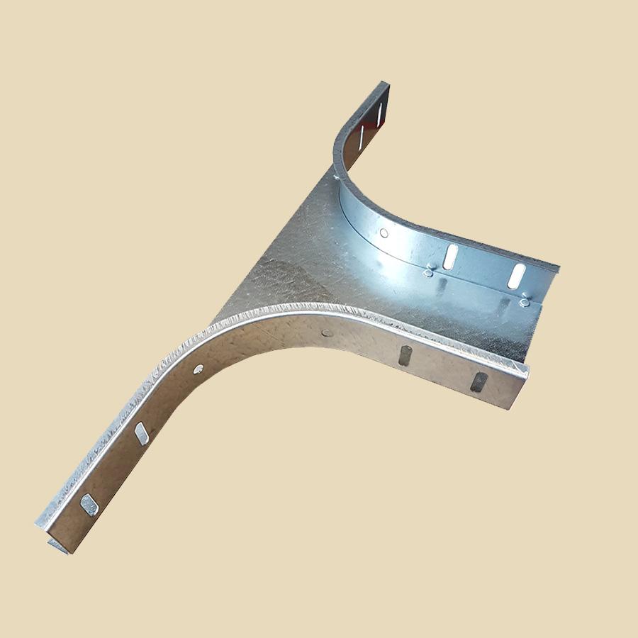 Courbe extérieur 90° EZ pour CDC & CDCT haut. 60mm - larg. 50mm