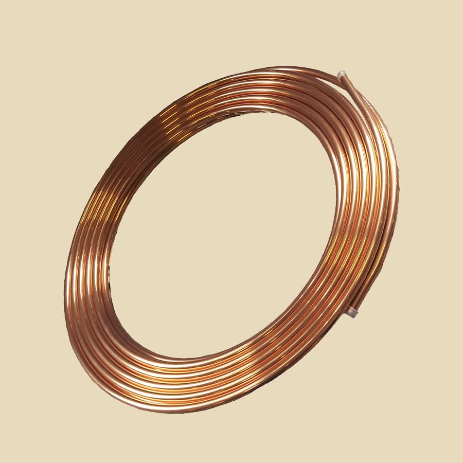 Couronne cuivre 0,6 x 2,4 - long. 50m