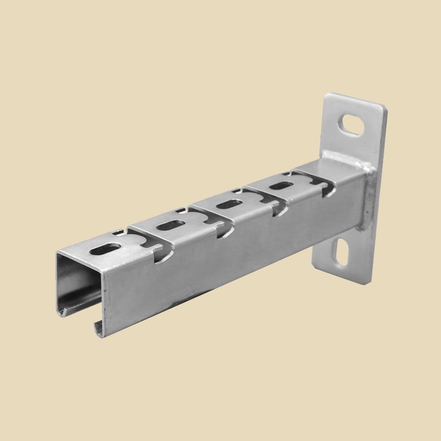 Console encliquetable 41 X 41 pour chemin de câbles fils - larg. 150