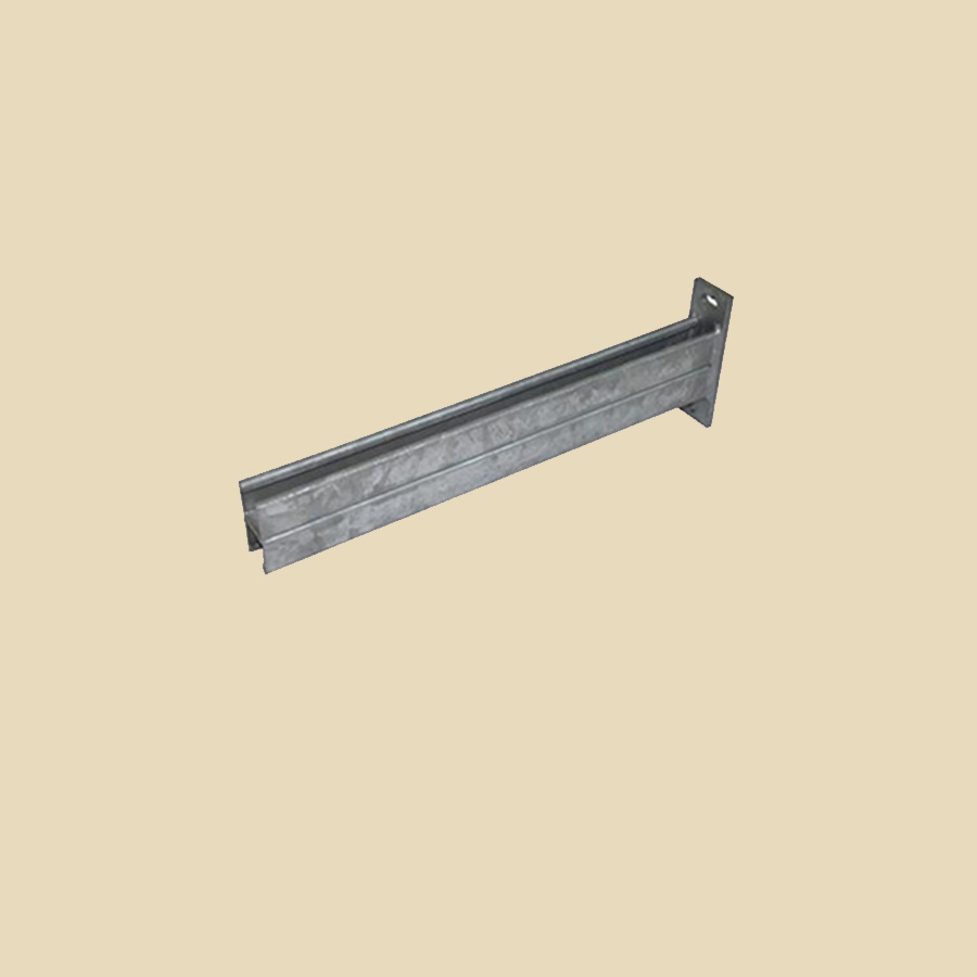 Console perforée EZ DOUBLE 41x41 longueur 1000mm