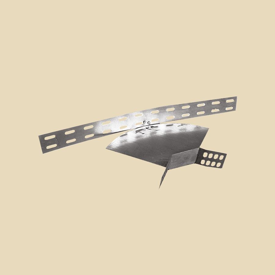 Coude réglable 90°-180° EZ pour CDC & CDCT - haut. 60mm - larg. 50mm