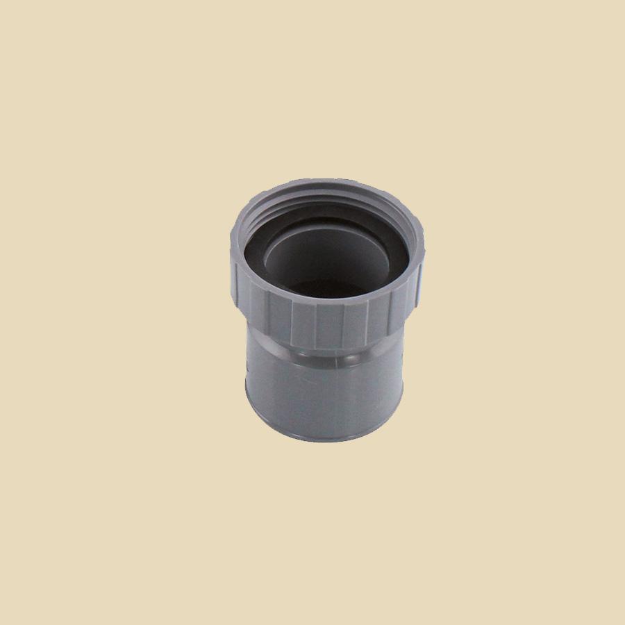 Manchette F32 à coller x 32 à visser F PVC Gris