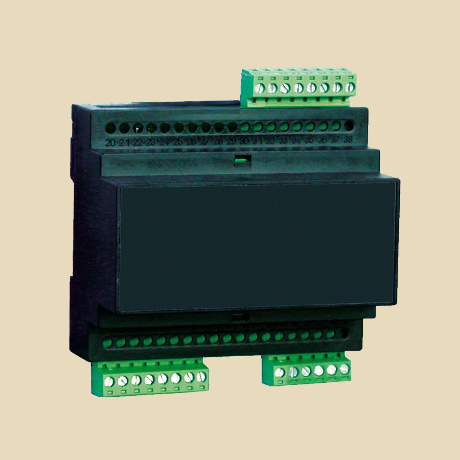 Module gestion 0 à +50°C 230V AC 0-10V ou 4-20mA pour vanne pas à pas (gère 6383 pas, 3064 pas, 1596 pas)
