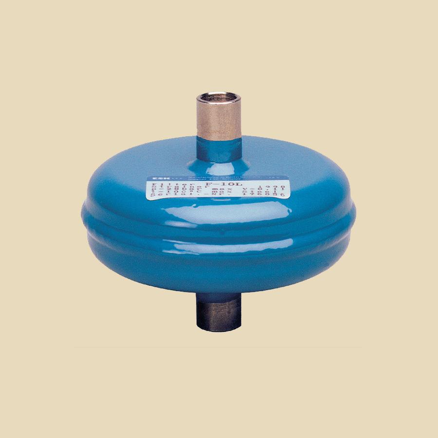 Filtre micronique compact à faible Dp 1/2