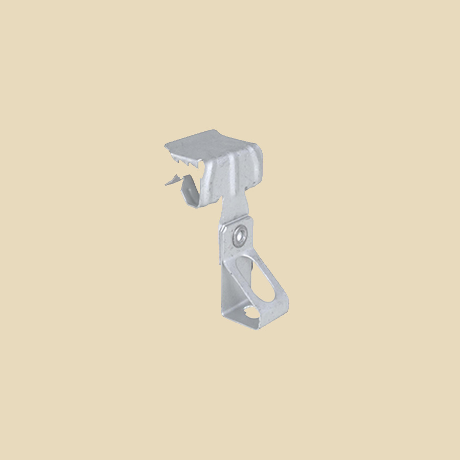 Griffe poutrelle pour tige fileté M6 pour IPN de 8 à 14 mm - boite de 100