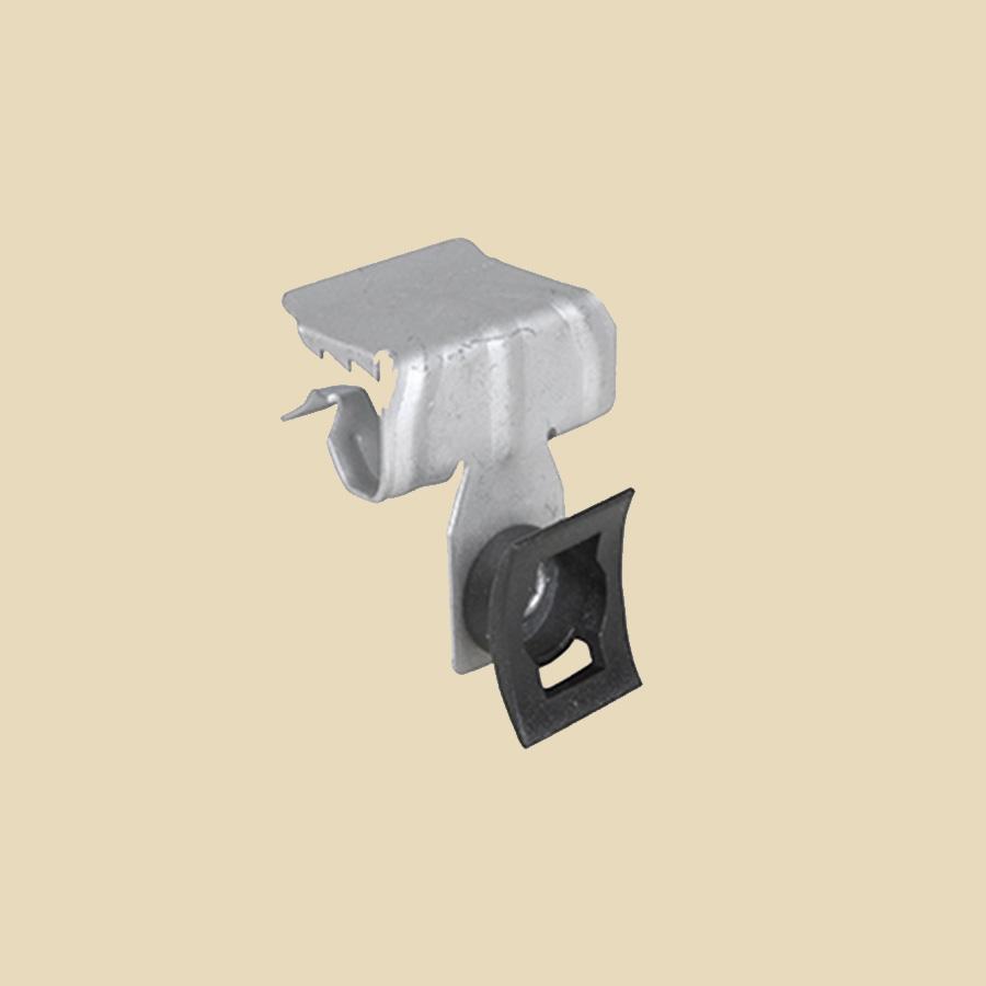Griffe poutrelle pour collier de serrage pour IPN de 8 à 14 mm - boite de 100