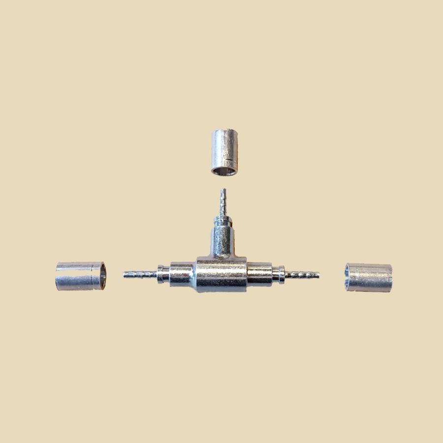 Kit raccord en TE pour FCT-2059B vendu par multiple de 10