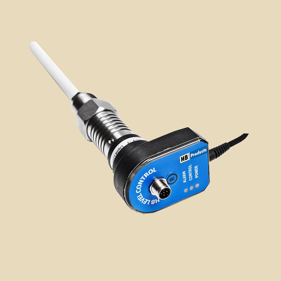 Capteur niveau capacitif avec régulateur pour NH3 avec câble, long 280mm, 3/4