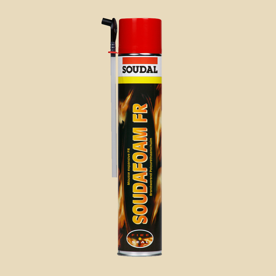 Mousse polyuréthane coupe-feu - 750 ml