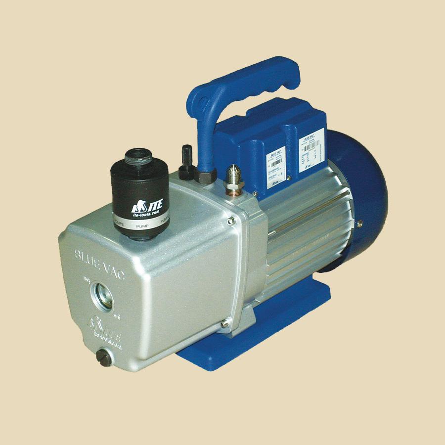 Pompe à vide 120l/min 2 étages pour NH3 avec système gaz ballast