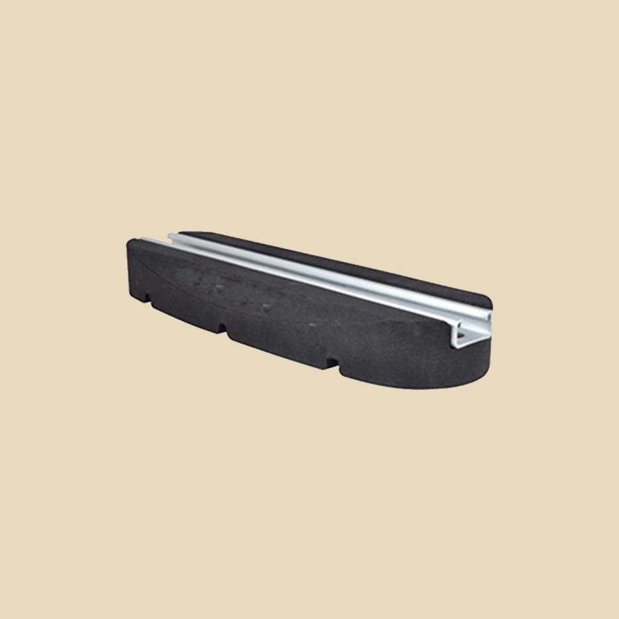 Mini Pied support 250x130x50mm charge Max. 100kg - vendu par paire