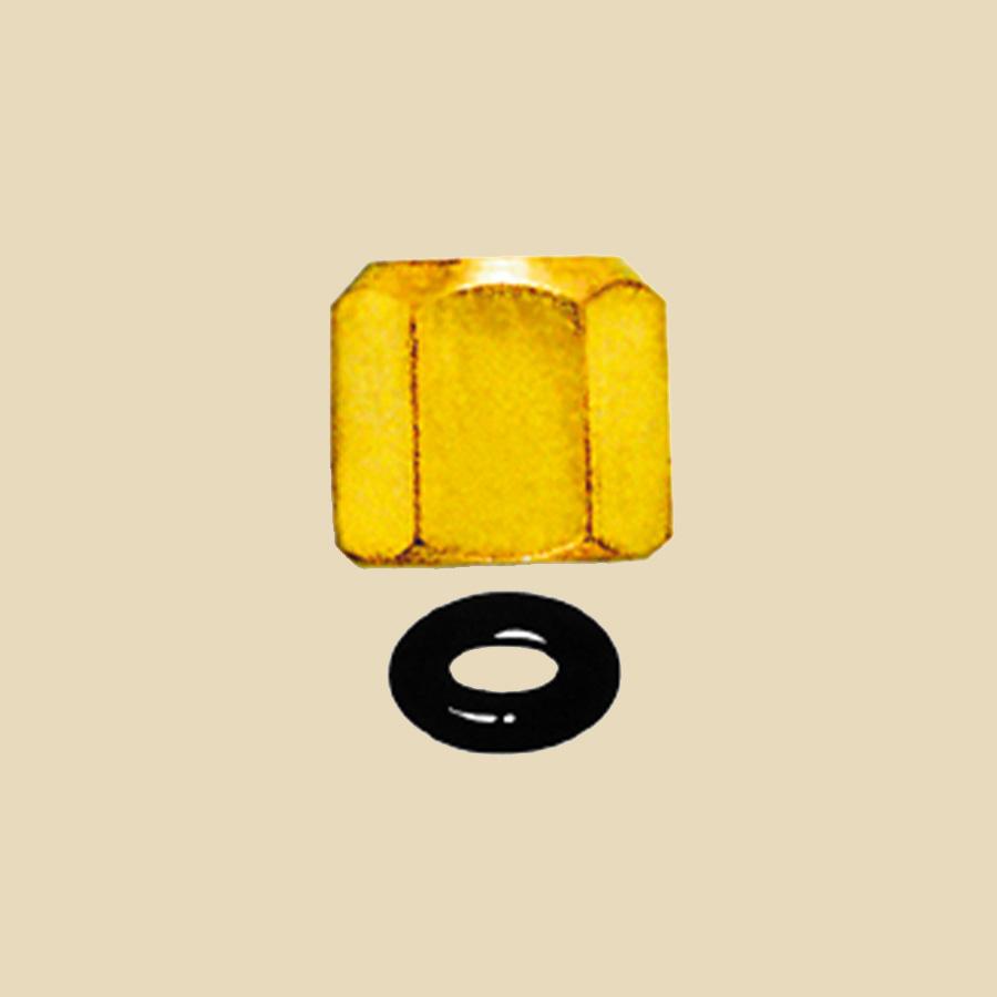 Capuchon laiton hexagonale 1/4