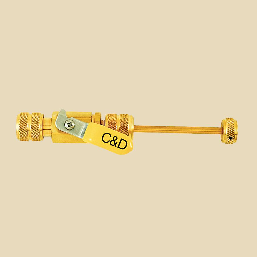 Outil extracteur de valves 1/4 tour 1/4