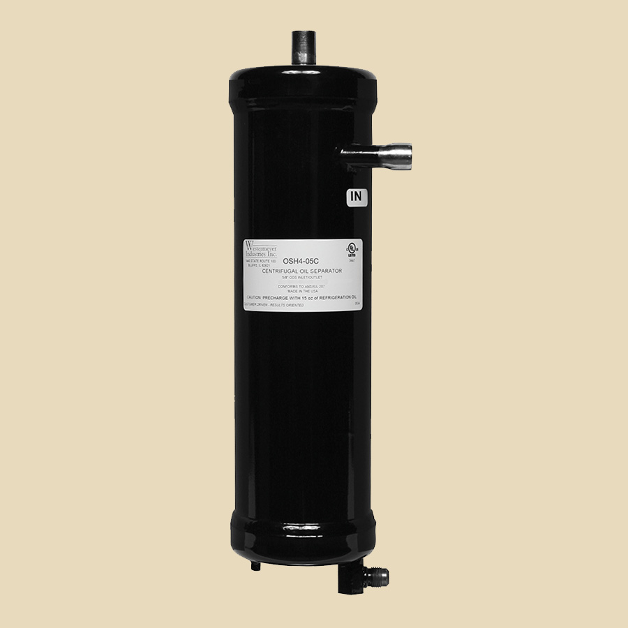 Séparateur huile centrifuge démontable Haute Pression 1/2