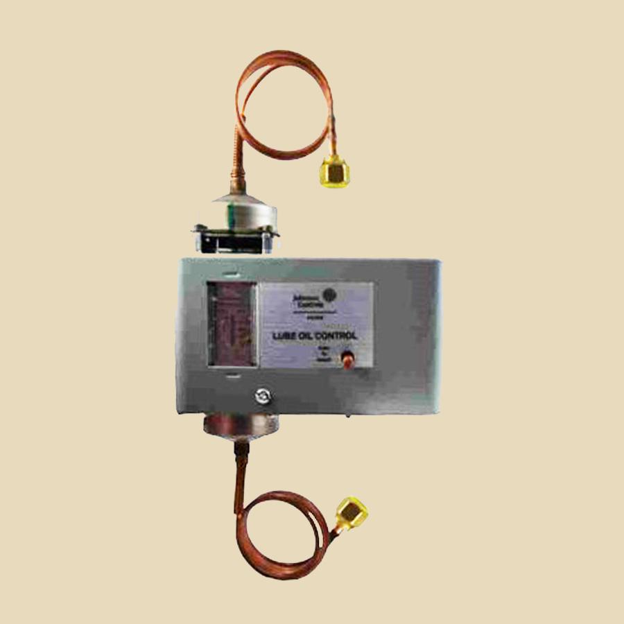 Pressostat différentiel d'huile Pl. 0,6 à 4,8 bar Rearm Manu Tempo 50s