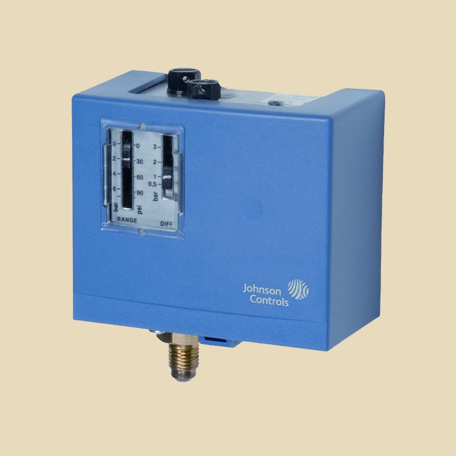 Pressostat regulation auto pour l'eau Plage -0,5 à 10 bar, diff. 1 à 4,5 bar