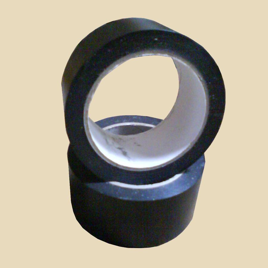 Ruban adhésif PVC noir larg. 50mm - long. 33m