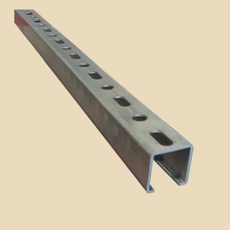 Rail perforé 27x30 EZ ep. 1,75mm long 2m