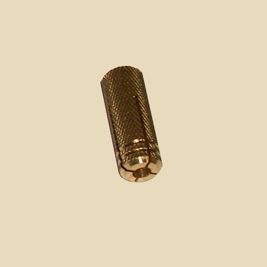 Cheville laiton M6 - boite de 100