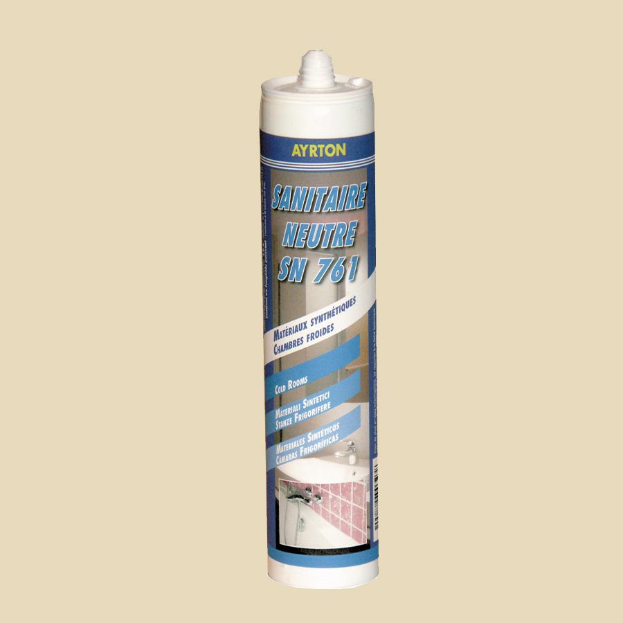 Silicone neutre fongicide blanc pour chambre froide - 300 ml