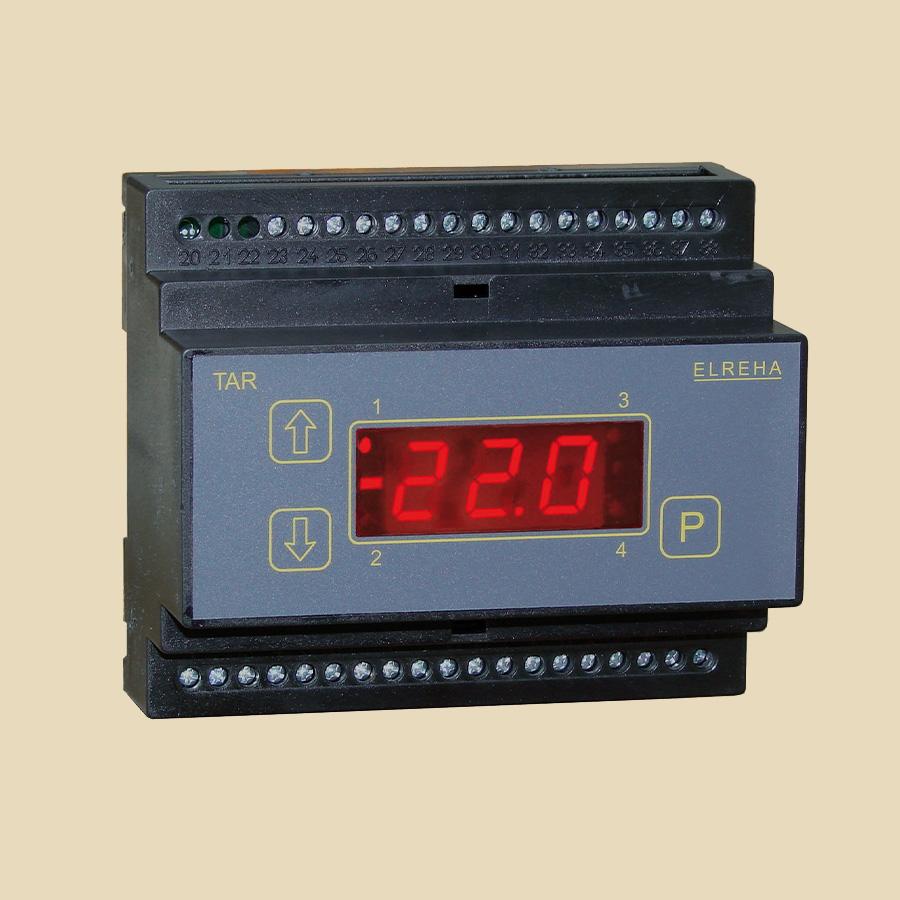 Régulateur 2 étages pour Température préssion ou humidité