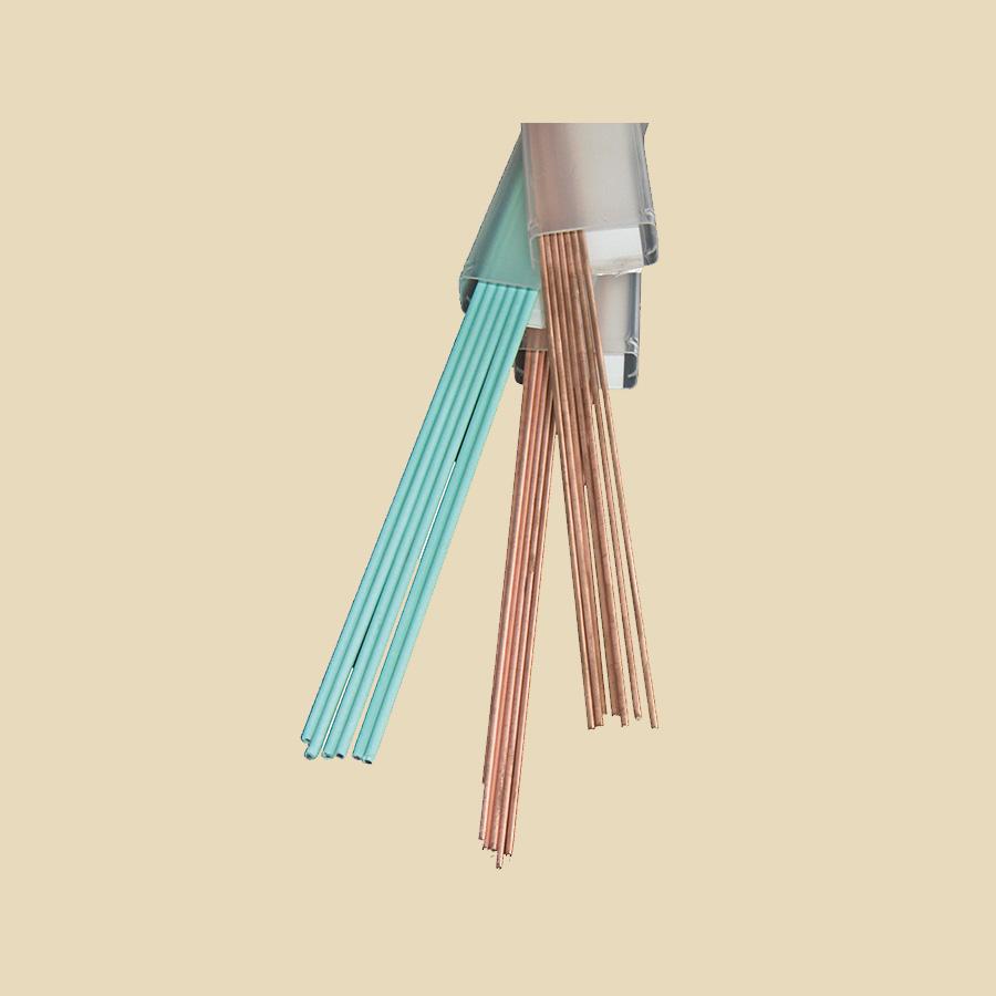 Brasure Cuivre Phosphore nue 15% Argent CuP 281 D 2mm x 500mm - Etui de 1kg
